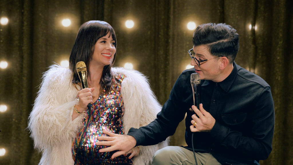 Natasha Leggero was eight months pregnant when she and her husband Moshe Kasher turned their honeymoon into a comedy tour.