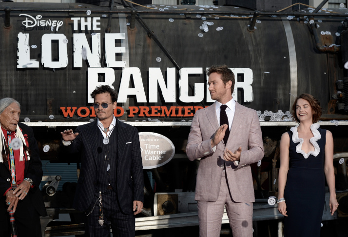 "Premiere Of Walt Disney Pictures' ""The Lone Ranger"" - Red Carpet"