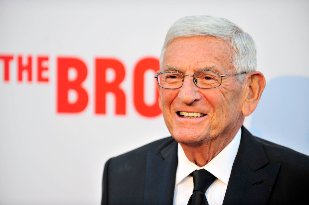 Eli Broad attends The Broad Museum Black Tie Inaugural Dinner at The Broad on September 17, 2015 in Los Angeles, California.