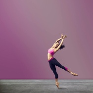 Ballet dancer Misty Copeland in an advertisement for Under Armour.
