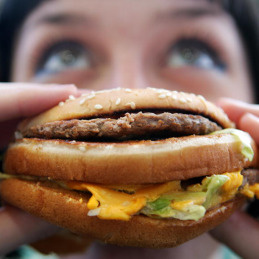 Is there a way to reduce the nation's consumption of junk food?