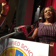 Los Angeles Unified School District superintendent Michelle King