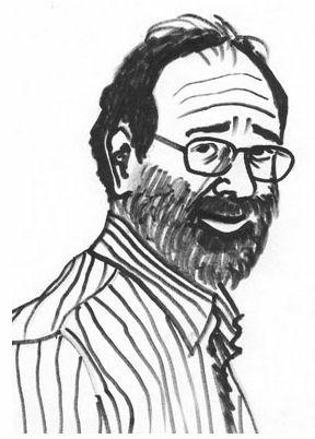 A caricature of UCLA professor emeritus Lloyd Shapley, winner of the 2012 Nobel economics prize.