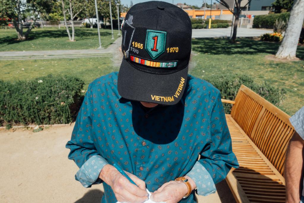 Vietnam veteran Jim Durkin.
