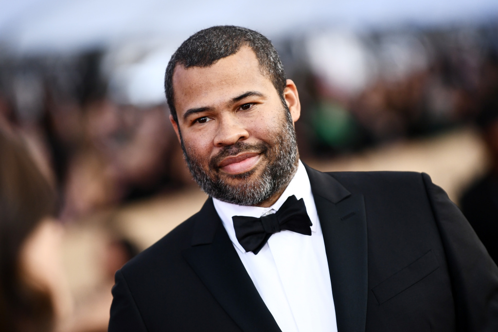 In this file photo, writer-actor-director Jordan Peele attends the 24th Annual Screen Actors Guild Awards at The Shrine Auditorium on January 21, 2018 in Los Angeles, California. Peele has won a Writers Guild Award for best original screenplay for his film