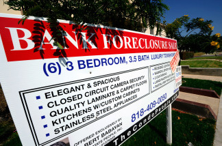 Foreclosures are up nationwide.