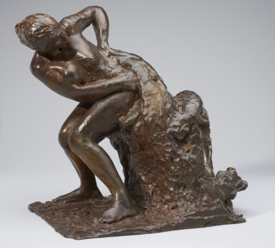 Dancer Ready to Dance, the Right Foot Forward, c. 1885 Edgar Degas (French, 1834-1917) Bronze, No. 57, Modèle cast Norton Simon Art Foundation