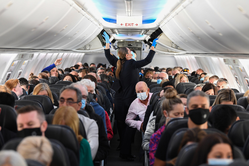 There's increasing emphasis on wearing masks while flying. How much protection do they offer against COVID-19?