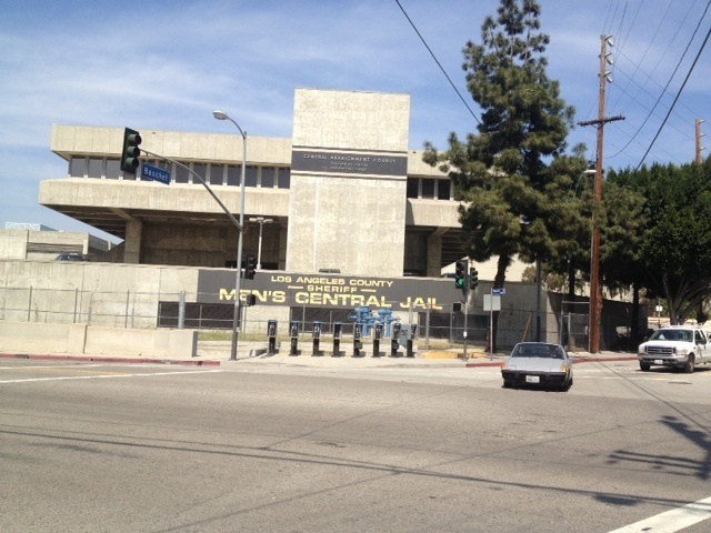 Men's Central Jail is located in downtown Los Angeles and run by the L.A. County Sheriff's Department.