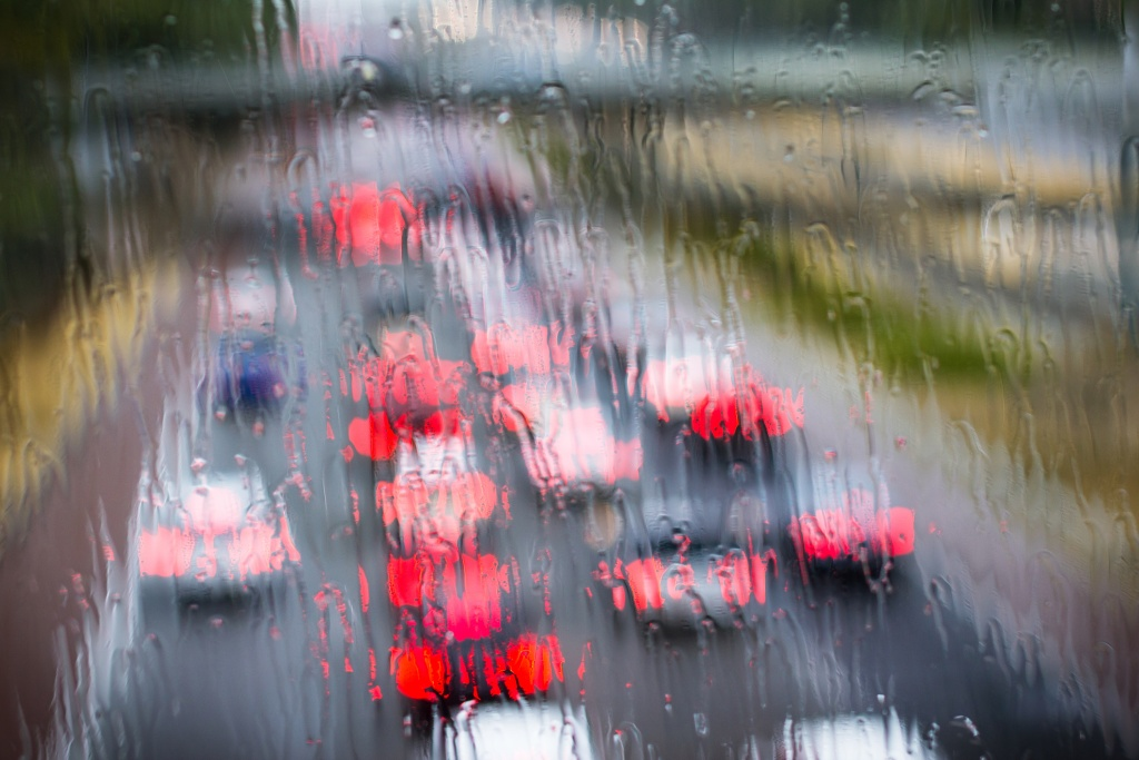 FILE: Driving in the rain? We share some tips from a professional stunt driver and invite you to tell us about your commuting nightmare.