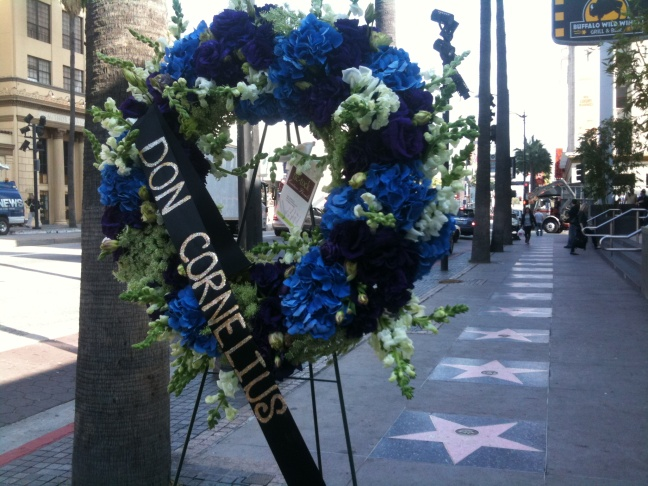 Don Cornelius Wreath