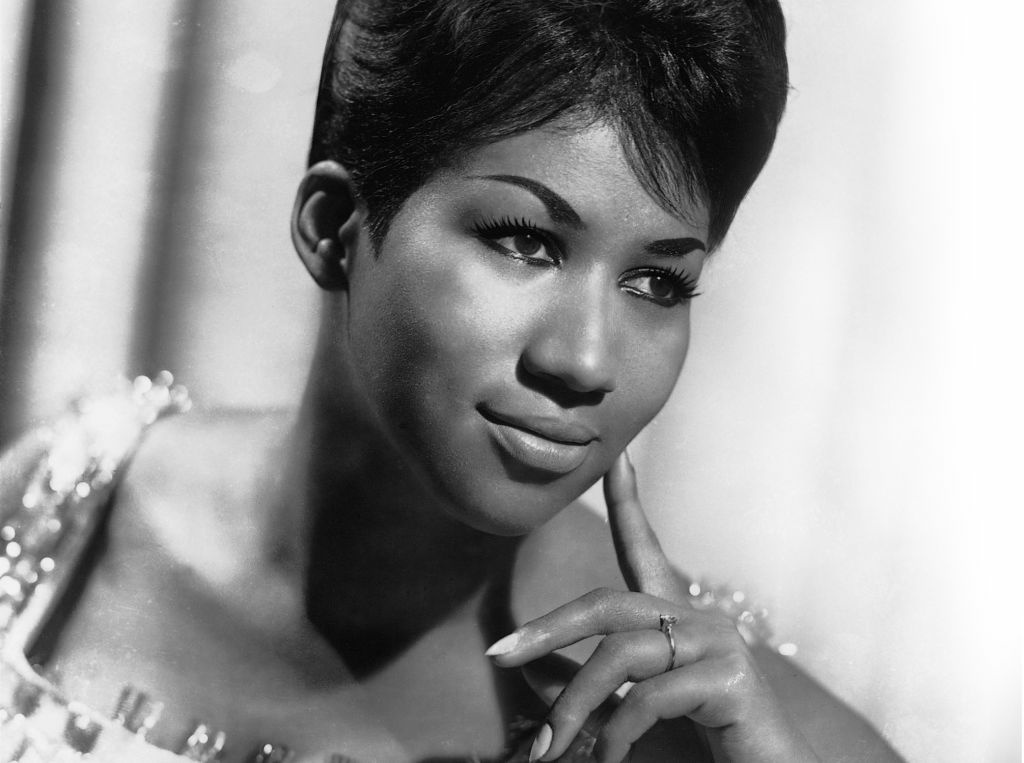 Publicity photo of Aretha Franklin.