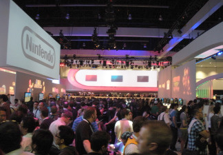 The crowd at the Electronic Entertainment Expo at the Los Angeles Convention Center, June 15, 2010.
