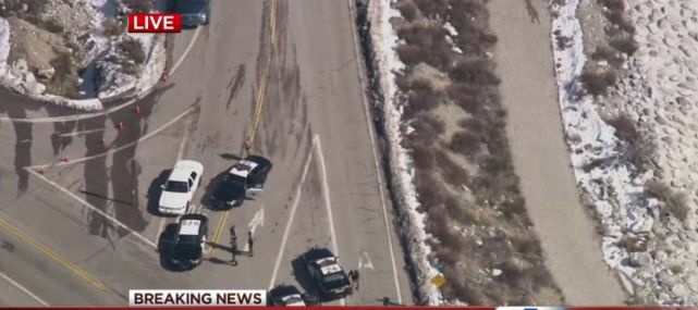 Roads near Big Bear were shut down as reports surfaced that authorities had sited rogue former officer Christopher Dorner.