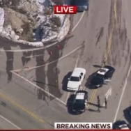 Screenshot: Dorner manhunt