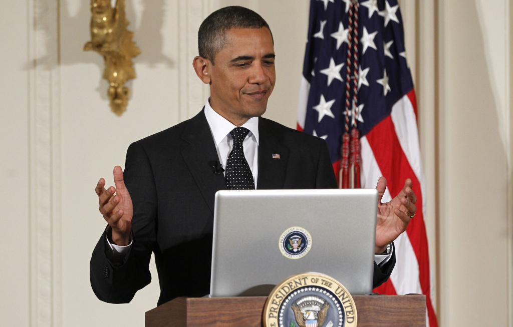 President Barack Obama might have just gotten his own Twitter account, but he's been tweeting for years, such as during this