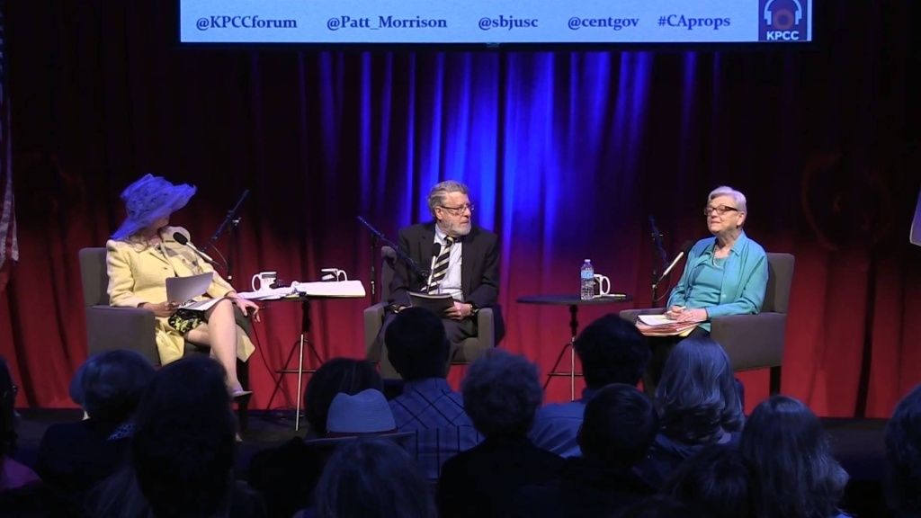 KPCC's Patt Morrison and her guests parse the propositions and the politics behind them. Bring your questions, and we'll clear up the confusion while we share a pint or two.