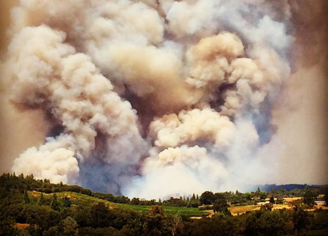 El Portal Fire burning in Mariposa County burned one home on Saturday and forced evacuations.