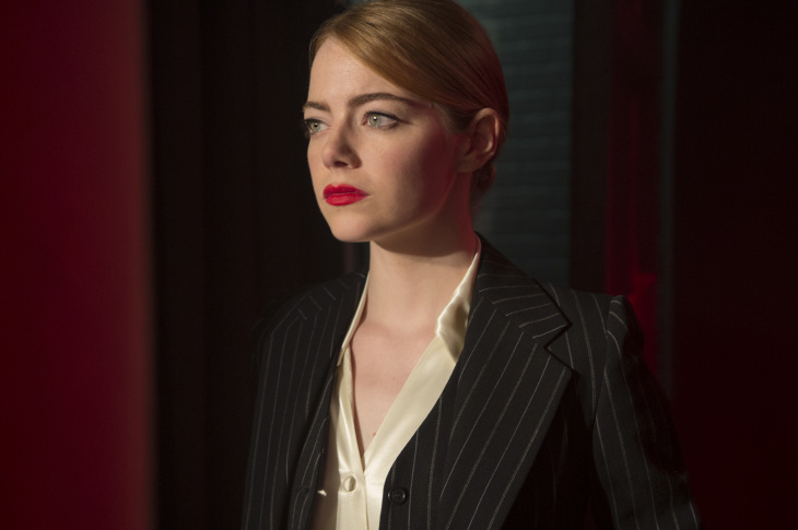 Emma Stone in a scene from