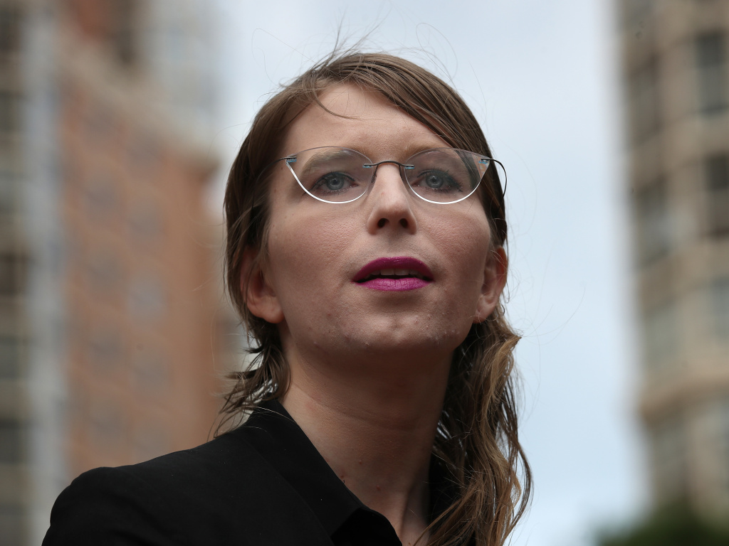 The Alexandria, Va., sheriff confirmed Thursday that former Army intelligence analyst Chelsea Manning