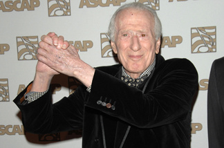Jerry Leiber attends ASCAP's 25th Annual Pop Music Awards at the Kodak Theatre on April 9, 2008 in Hollywood, California.