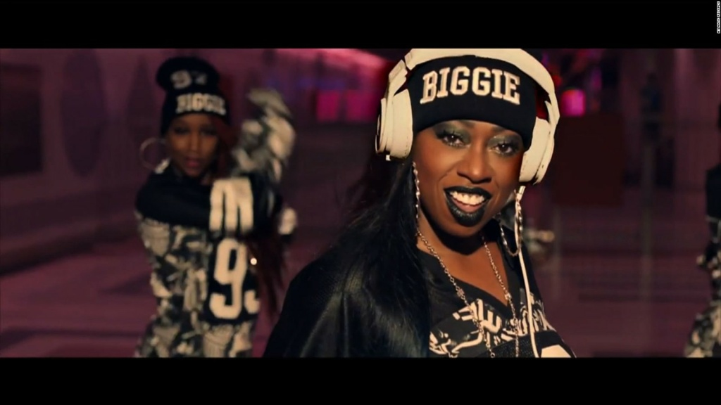 Image of Missy Elliot from her new video, WTF (Where They From)