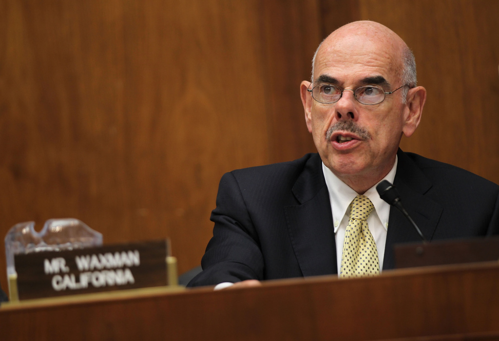 U.S. Rep. Henry Waxman (D-CA) speaks during a hearing before the Energy and Power Subcommittee of the House Energy and Commerce Committee May 31, 2011 on Capitol Hill in Washington, DC. The hearing was to examine the protection of the nation's electric grid from physical and cybersecurity threats and vulnerabilities.