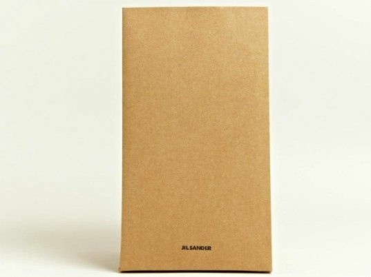 This paper bag by Jill Sander retails for $290.