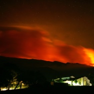 Santa Ana Winds Stir Up Southern California Wildfires