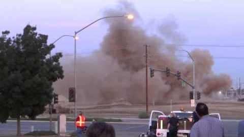 Implosion @ Kern Power Plant