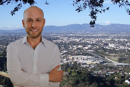 Internet entrepreneur Pablo Kleinman is running as a Republican against Democratic incumbent Congressman Brad Sherman in the San Fernando Valley.
