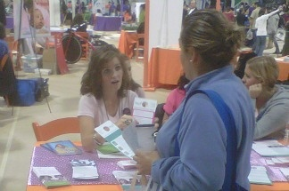 Hundreds of women are receiving free health and financial services at Cal State Long Beach, October 22-24, 2010.