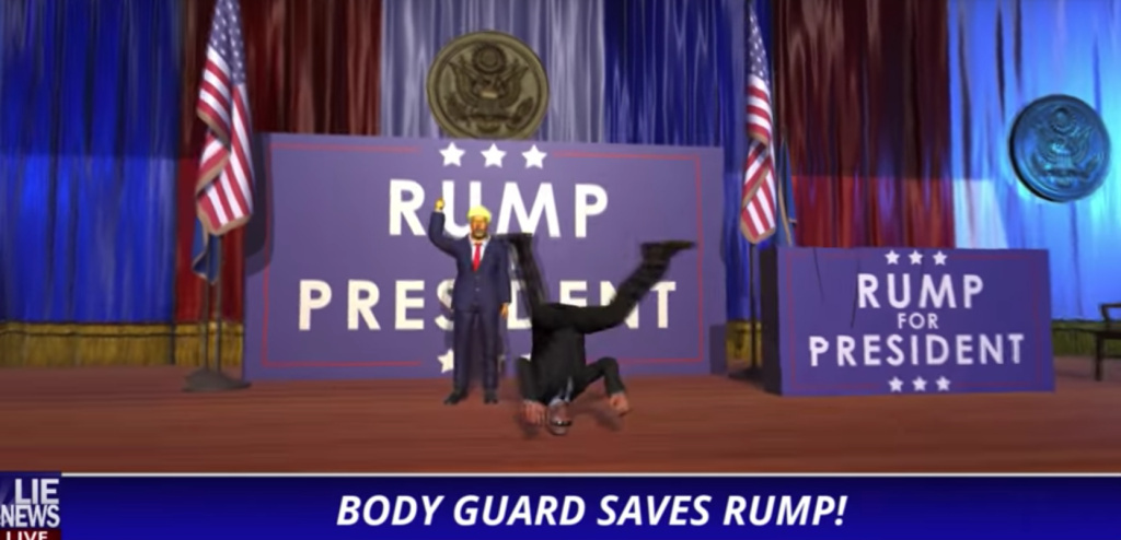Digital bodyguard successfully defends candidate