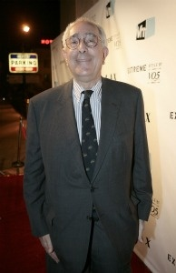Television personality Ben Stein attends the crowning finale and celebration for VH1's 'America's Most Smartest Model' at LAX on December 16, 2007 in Los Angeles, California.
