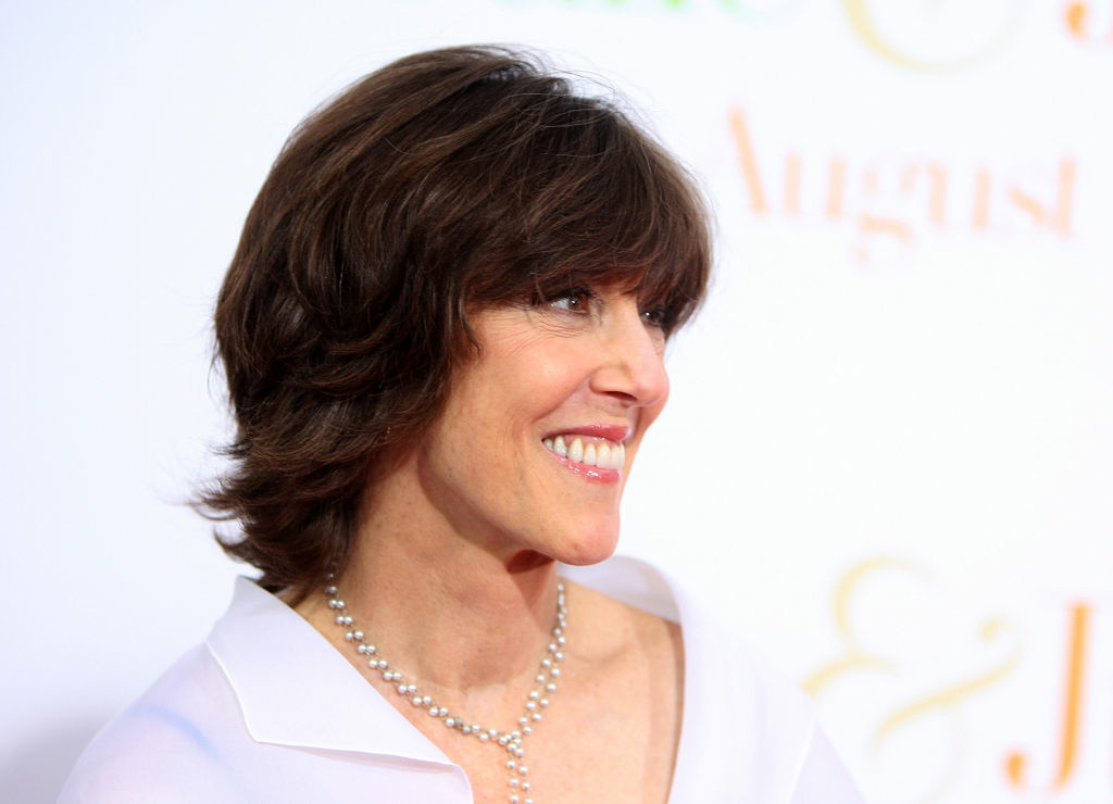 Author Nora Ephron attends the
