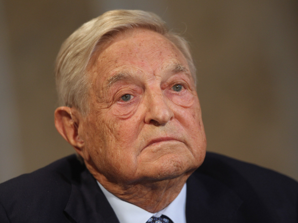 George Soros, seen at a forum in Berlin last year, is developing a new plan with other top liberal donors to boost Democratic candidates.