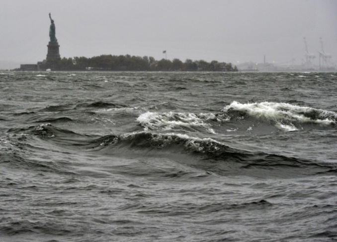 US-WEATHER-STORM-SANDY