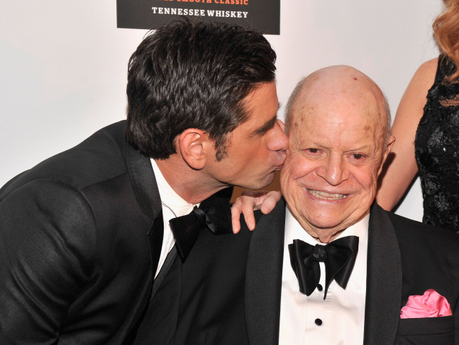 Comedian Don Rickles speaks at the 40th AFI Life Achievement Award honoring Shirley MacLaine held at Sony Pictures Studios on June 7, 2012 in Culver City.