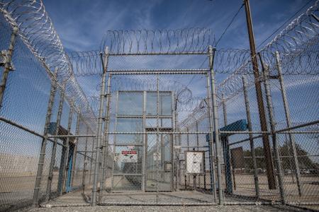 California's Corcoran State Prison.