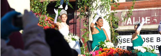 2011 Tournament of Roses Rose Parade Queen.