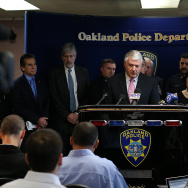 Oakland Police Dept. Holds News Conference On Chief Howard Jordan's Abrupt Step Down