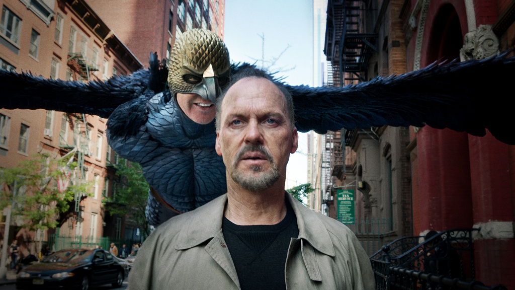 Michael Keaton is up for an Academy Award for his performance in <em>Birdman.</em> The movie's original score, despite receiving critical acclaim, was declared ineligible for Oscar consideration.