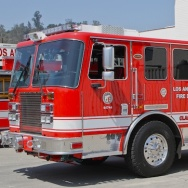 Los Angeles Fire Department Engine