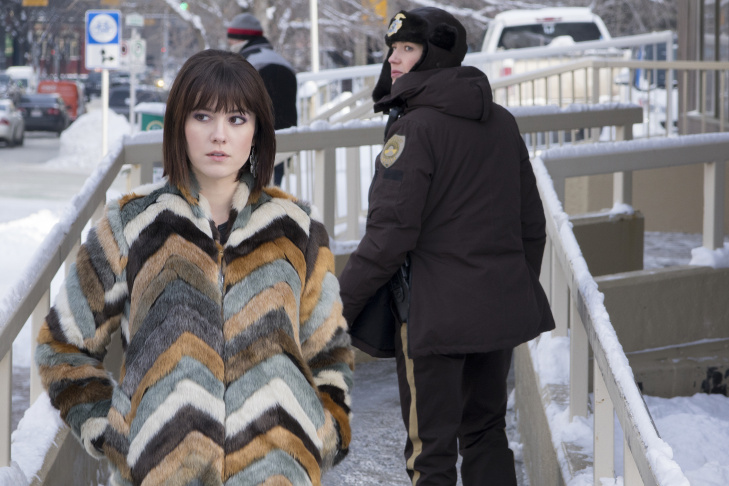 Mary Elizabeth Winstead as Nikki Swango in the FX series Fargo.