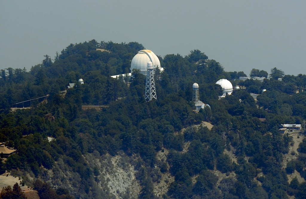 Mount Wilson Observatory on Aug. 31, 2009.