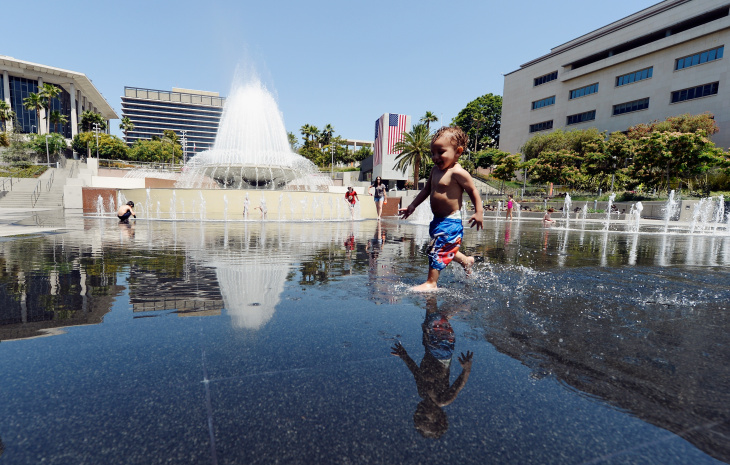 Southern California Swelters Under Major Heat Wave