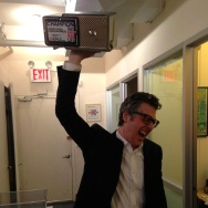 Public Radio Bracket Madness Ira Glass trophy