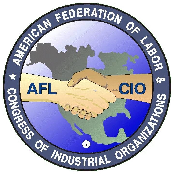 AFL-CIO logo.