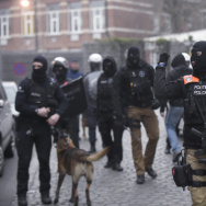 A police operation was underway on March 18, in the Brussels area home to key Paris attacks suspect Salah Abdeslam whose fingerprints were found in an apartment raided this week, the federal prosecutor's office said.