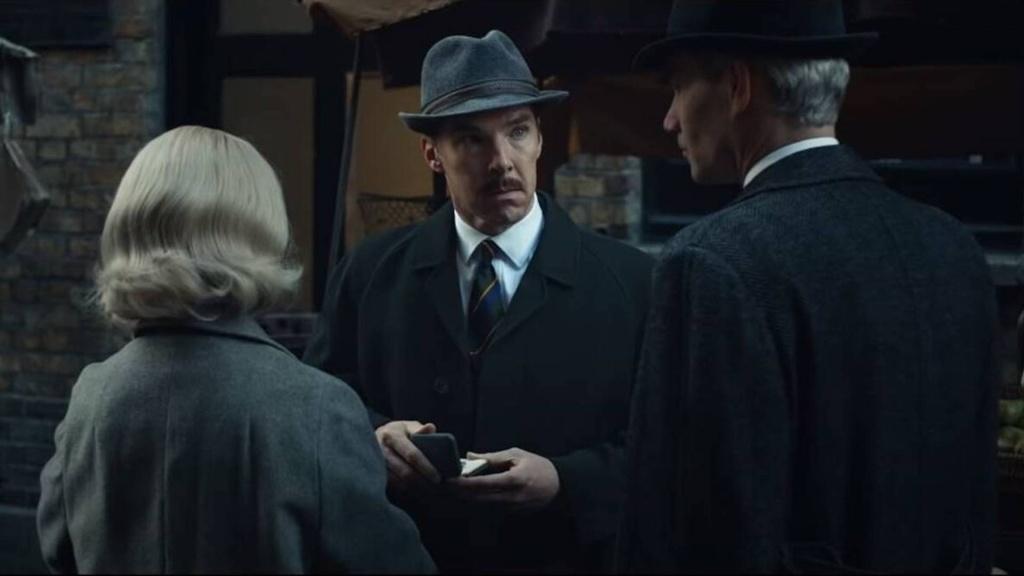 "Benedict Cumberbatch in ""The Courier"""